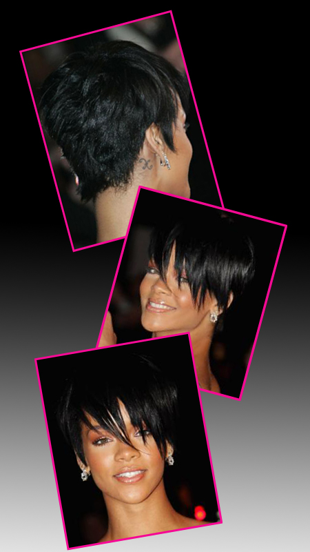 rihanna hairstyles. Pictures Of Rihanna Haircuts